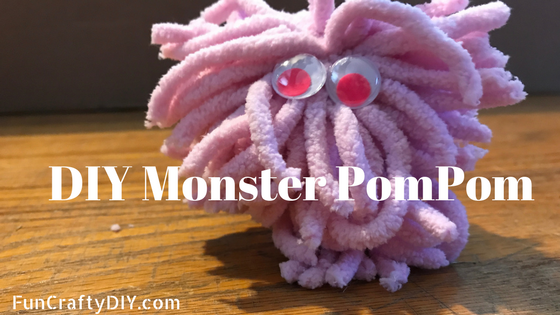 DIY Monster PomPom