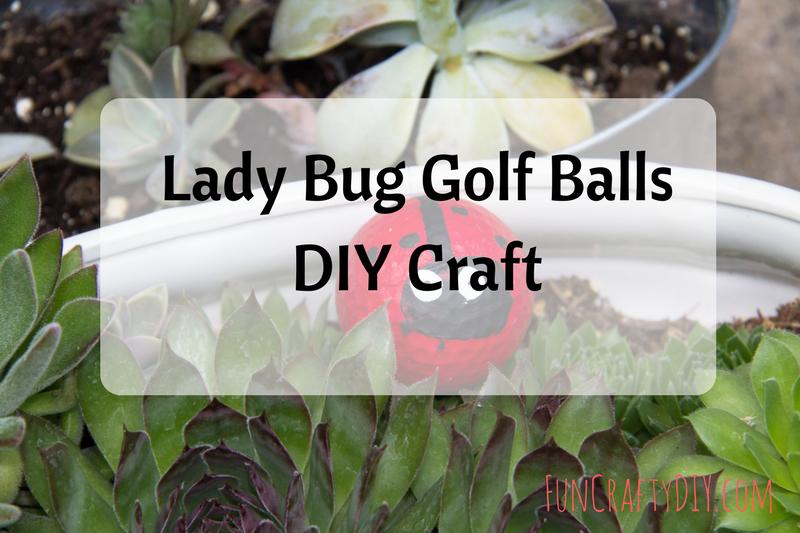 Lady Bug Golf Ball 2