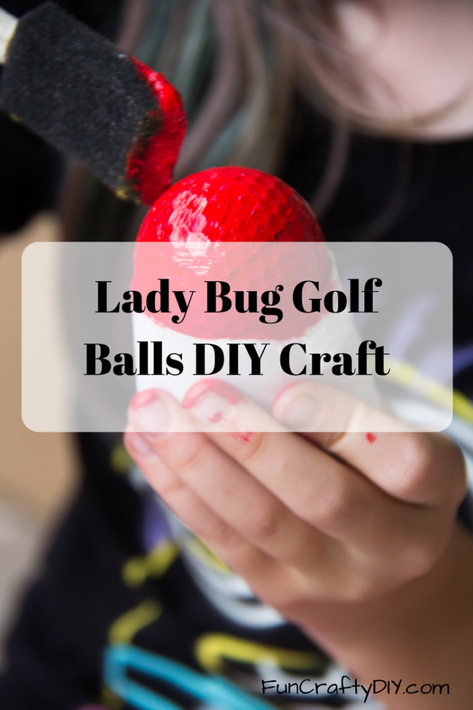 Lady Bug Golf Ball