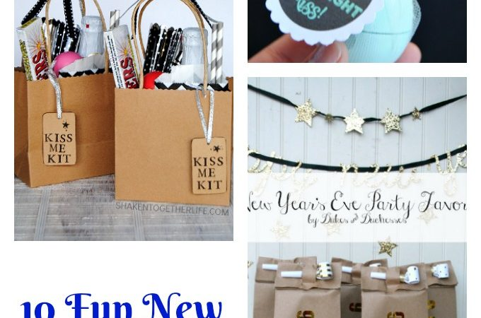 10 Fun New Year's Eve Craft Ideas
