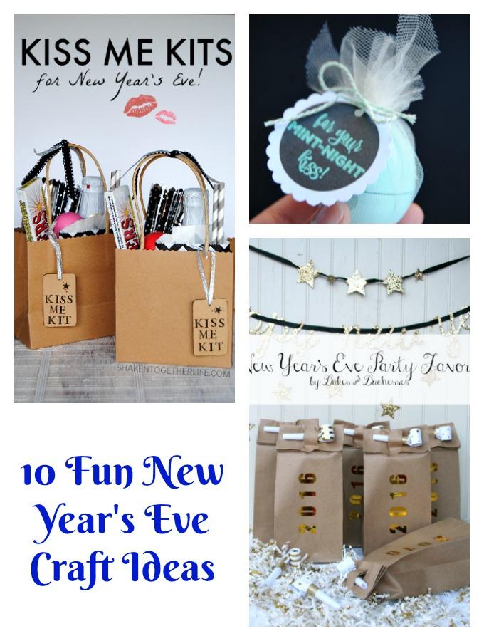 10 Fun New Year's Eve Craft Ideas